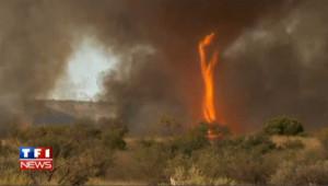 Australie : les images très rares d'une tornade de feu