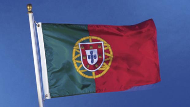 Le drapeau du Portugal.