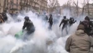 manifestation paris loi travail étudiants