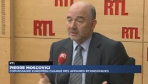 Pierre Moscovici sur la Grèce
