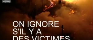 120 maisons détruites dans l'incendie d'une favela de Sao Paulo