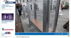 Angoulême : la mairie a finalement démonté les bancs anti-SDF