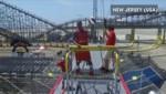 Basket : un Harlem Globetrotters met un panier attaché à une tyrolienne à 100 km/h
