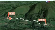 Coulée de boue dans les Hautes-Pyrénées : une maison au bord du précipice, un pan de route emporté
