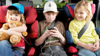 Distraire ses enfants en voiture