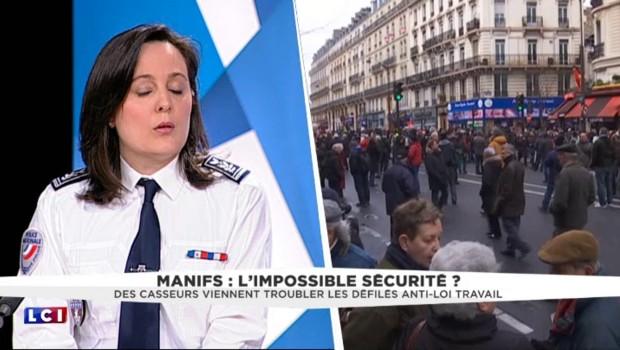 L'impossible sécurité lors des manifestations ? La réponse d'une policière