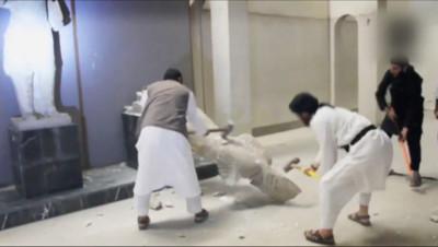 Le 20 heures du 26 février 2015 : L'Etat islamique multiplie autodafés et destructions à Mossoul - 550.5597167968751
