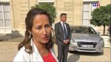 Royal confirme l'opposition du gouvernement au gaz de schiste