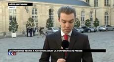 Avant la conférence de presse de Hollande, les ministres font bloc