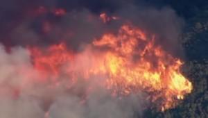 Incendie en Californie (23/07)