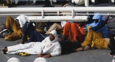 Un passeur présumé se cachait parmi les migrants.