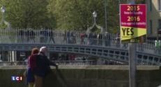 """""""Yes"""" or """"no"""" : les Irlandais se prononcent sur le mariage homosexuel"""