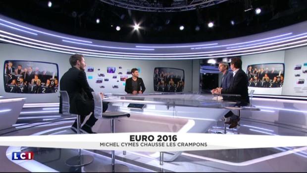 Le défi de Michel Cymes à François Hollande pour cet Euro 2016