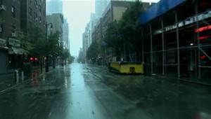 Les rues de New York sont restées désertes dimanche.
