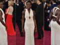 Lupita Nyong'o sur le tapis rouge de la cérémonie des Oscar 2015