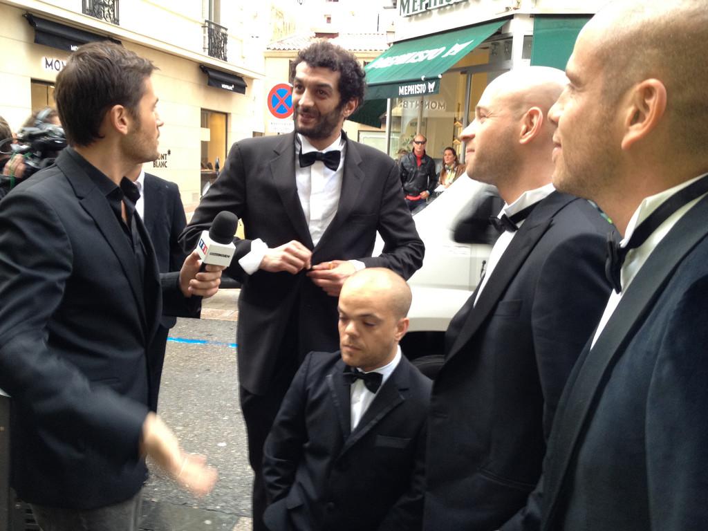 Sur la Croisette pendant le Festival de Cannes 2012