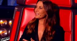 Zazie pendant l'épreuve ultime diffusée le 28 mars 2015 sur TF1.