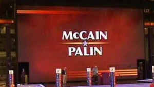 affiche mccain palin convention republicaine