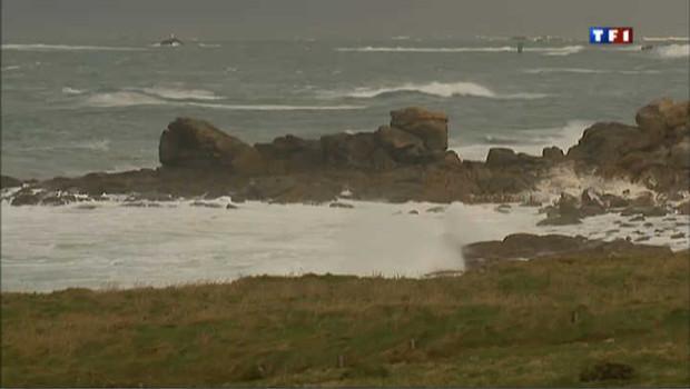 Avis de forte tempête sur la Bretagne