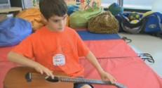 Felix de St-Hilaire, 10 ans et prodige du blues.