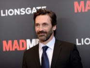 L'acteur américain Jon Hamm, héros de Mad Men, à New York en mars 2015