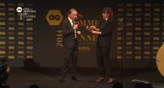 """Le 13 heures du 20 novembre 2014 : Bouleau remporte le prix GQ de """"l%u2019animateur de l%u2019ann� - 1126.674"""