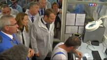 Le 20 heures du 2 septembre 2014 : Emmanuel Macron fait sa rentr�dans une Scop - 779.3680919494628