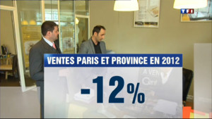 Le 20 heures du 4 avril 2013 : Immobilier : le marche retourne - 1699.641