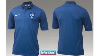 Nouveau maillot des Bleus
