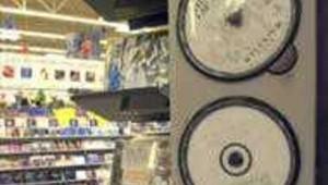 Photo de CD dans un magasin de disque