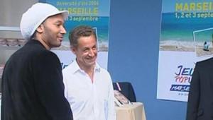 TF1-LCI - Doc Gyneco s'est rendu à Marseille à l'université d'été de l'UMP le 2 septembre