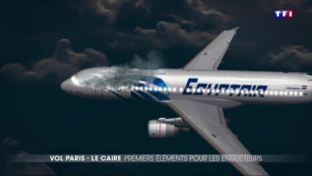Vol Paris-Le Caire: la cause du crash toujours inconnue