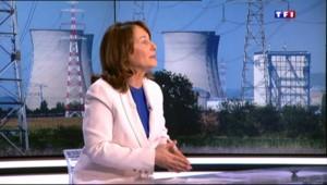 """""""C'est la France qui décide"""", Royal réagit sur TF1 à la plainte de Genève contre la centrale du Bugey"""