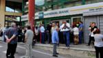 Grèce : queue devant une banque fermée à Athènes, 29/6/15
