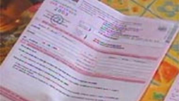 déclaration impôt sur le revenu 2003