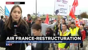 """Grève à Air France : le CCE interrompu dans un """"climat très tendu"""""""