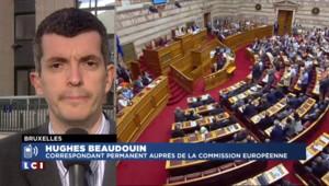 """Le Parlement grec dit """"oui"""" à l'accord : """"L'Eurogroupe va pouvoir mettre au point le prêt relais"""""""