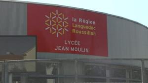 C'est dans la cour de ce lycée de Béziers qu'une professeure a tenté de s'immoler jeudi.