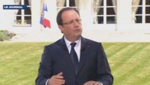 François Hollande le 14 juillet 2013
