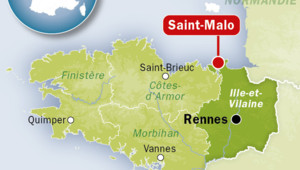 Infographie saint-malo bretagne