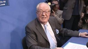 Jean-Marie Le Pen, voeux à la presse 11 janvier
