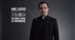 La nouvelle campagne de pub des diocèses de Normandie Adopteuncure.com mise sur l'humour pour convaincre une cible plus jeune à donner pour l'Eglise.