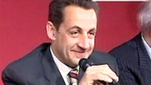 Nicolas Sarkozy à Paris (LCI)