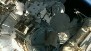Réparation de l'ISS
