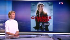 """""""Une chance de trop"""" : Alexandra Lamy invitée du JT de 20h de TF1"""