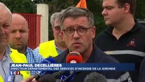 Gironde : indomptable incendie, les moyens de lutte renforcés