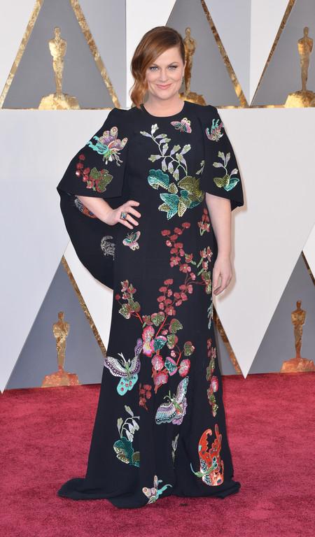 Amy Pohler sur le tapis rouge des Oscars 2016
