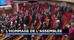 Attentat en Tunisie : l'Assemblée nationale rend hommage aux victimes