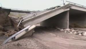 Californie : un pont s'effondre (21/07)