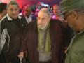 Le 8 janvier 2014, Fidel Castro a fait sa première apparition publique en neuf mois, à La Havane.